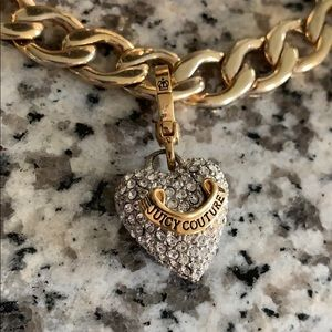 Juicy Couture Jewelry - Juicy couture gold charm bracelet